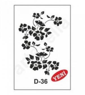 Στένσιλ 20x30 D-36 Artebella