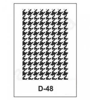 Στένσιλ 20x30 D-48 Artebella